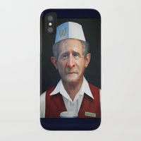 fries iPhone & iPod Cases featuring Freedom Fries by Jaime Margary