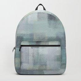 Smokey Teal Blocks Backpack