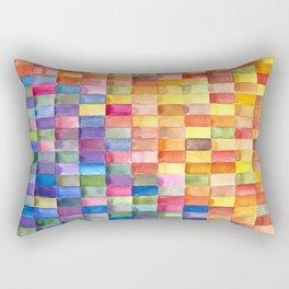 Rectangles Rectangular Pillow
