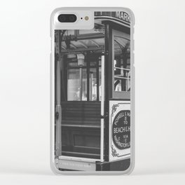 Cable Car Clear iPhone Case