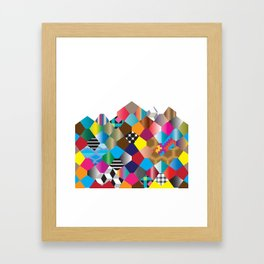 Pattern_2 Framed Art Print
