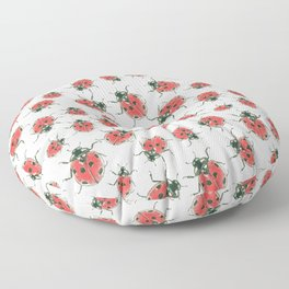 Ladybugs Floor Pillow