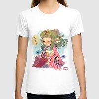 tiki T-shirts featuring FE-Tiki by Mimiblargh