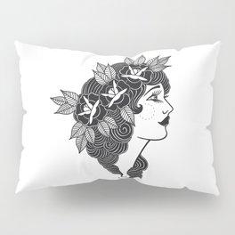 Pinup Profile Pillow Sham
