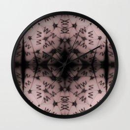 Kaleidoscope ABC |W Wall Clock