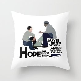 Shawshank Redemption Throw Pillow