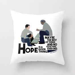 Shawshank Redemption Throw Pillow