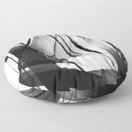 down registration (film collage) Floor Pillow