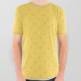 Chemistry Class Doodles - Yellow All Over Graphic Tee