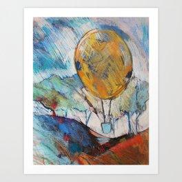 Take Off! Art Print