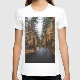 Autumn Road T-shirt