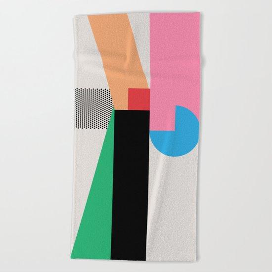 shape of you Beach Towel