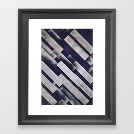 sydeshww Framed Art Print