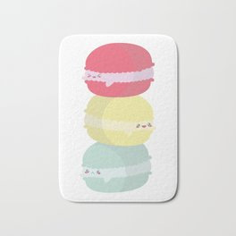Happy Macarons Bath Mat