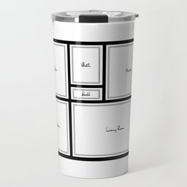 Little Apartment Plan Travel Mug