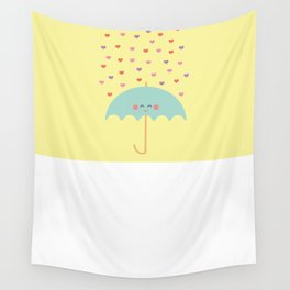 Love Rain Wall Tapestry