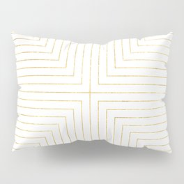 Converge Three Gold Pillow Sham