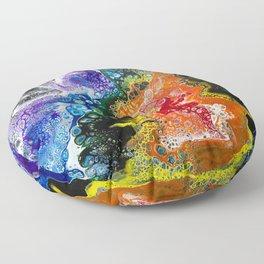 Rainbow Acrylic 2 Floor Pillow