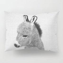 Donkey - Black & White Pillow Sham