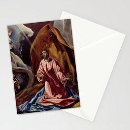 """El Greco (Domenikos Theotokopoulos) """"Agony in the Garden"""" Stationery Cards"""