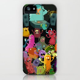 The mezcal monsters iPhone Case