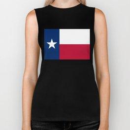 State flag of Texas Biker Tank