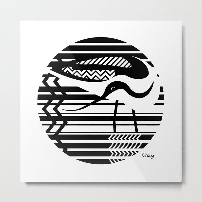 avocet Metal Print