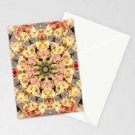 The Skull Flower Kaleidoscope Stationery Cards