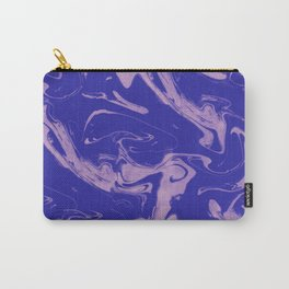Adrift - Abstract Suminagashi Marble Series - 09 Carry-All Pouch