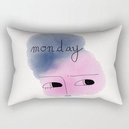 Monday 1 Rectangular Pillow