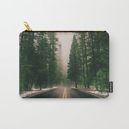 On the Road III / Yellowstone Carry-All Pouch