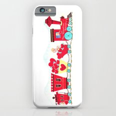 Vintage Valentine Day Card Inspired - Love, Romance, Romatic, Red, Hearts, Cherub, Angels Slim Case iPhone 6s