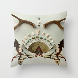 Rainbow Warrior Throw Pillow
