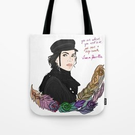 Lana Parrilla Feathers of Hope Tote Bag