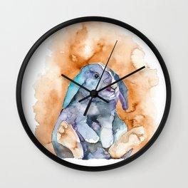 BUNNY#9 Wall Clock