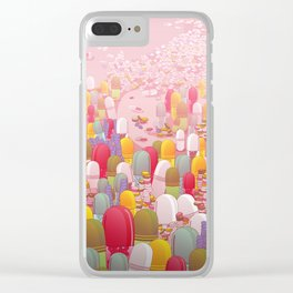 Society of Pills Clear iPhone Case