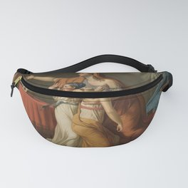 Jacques-Louis David Lictors brings the bodies of his sons to Brutus Fanny Pack