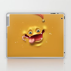 Christmas mad face Laptop & iPad Skin