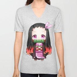 Nezuko Chibi Unisex V-Neck