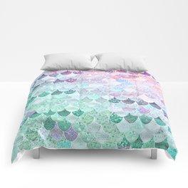SUMMER MERMAID - CORAL MINT Comforters