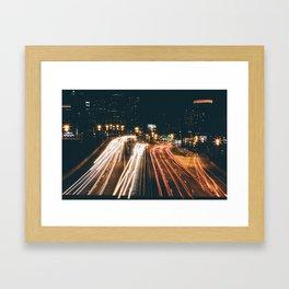 PHILADELPHIA LONG EXPOSURE Framed Art Print