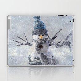 Cute snowman frozen freeze Laptop & iPad Skin