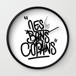 The good friends Wall Clock