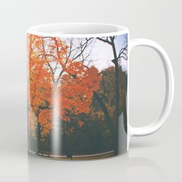Bright Orange Fall Tree Coffee Mug