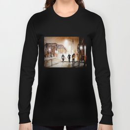 Britain's cold night in warm colors. Long Sleeve T-shirt