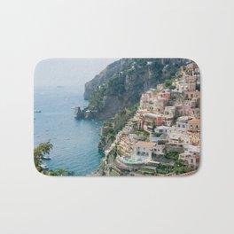 Italy. Amalfi Coastline Bath Mat