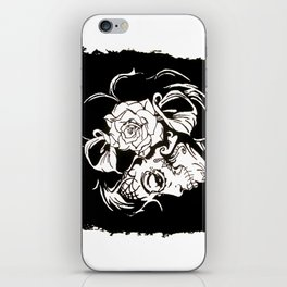 Dama De Los Muertos iPhone Skin