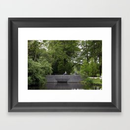 On the Way Framed Art Print