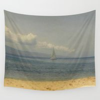 sail Wall Tapestries featuring Sail Away by J&C Creations