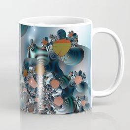 Follow me! -- Creatures in a fractal landscape Coffee Mug